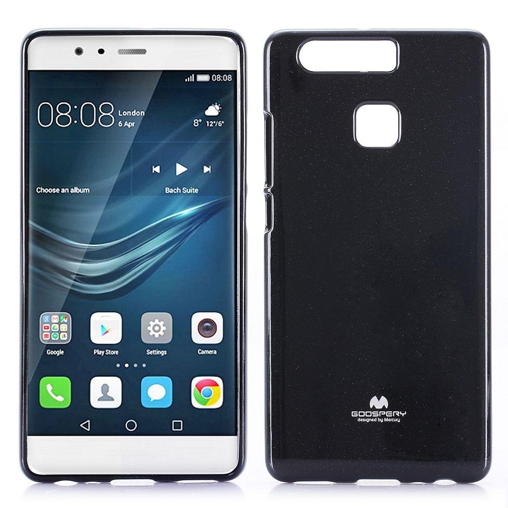 Ovitek TPU Goospery (črn) za Huawei P9