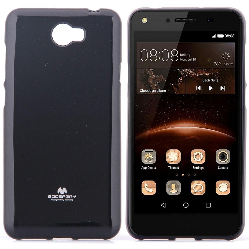 Ovitek TPU Goospery (črn) za Huawei Honor 5 / Y5II