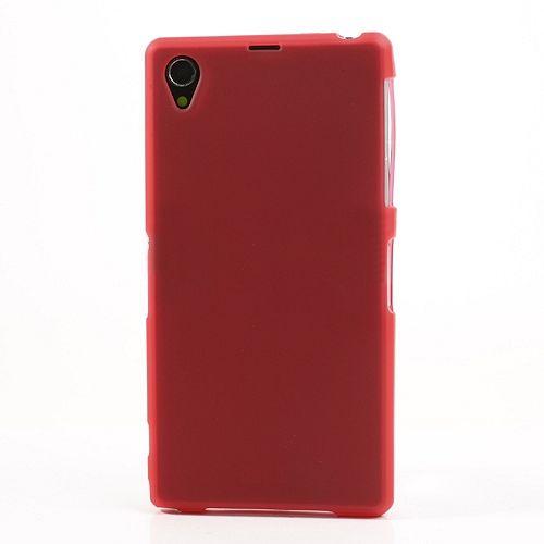 Ovitek TPU (rdeč) za Sony Xperia Z1