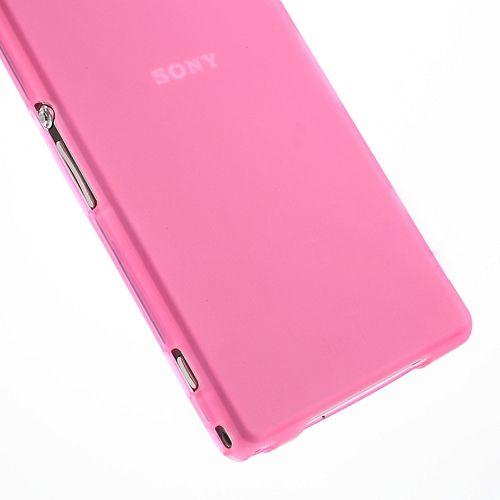 Ovitek TPU (roza) za Sony Xperia Z1