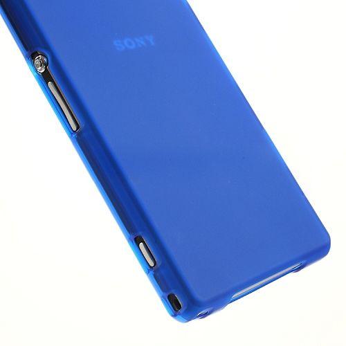 Ovitek TPU (moder) za Sony Xperia Z1