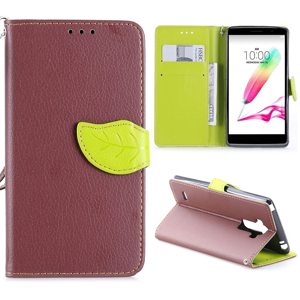 LG G4 Stylus (brown) flip tok