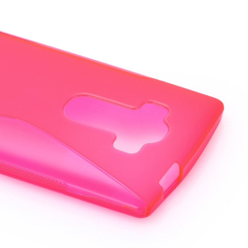 Maska TPU (ružičasta) za LG G4