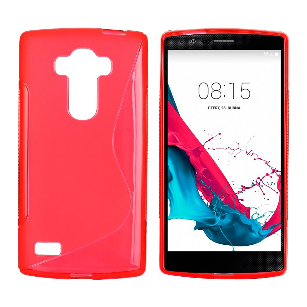 Ovitek TPU (rdeč) za LG G4