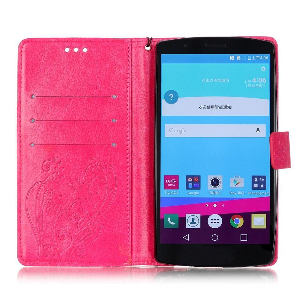Preklopni ovitek (roza) za LG G4