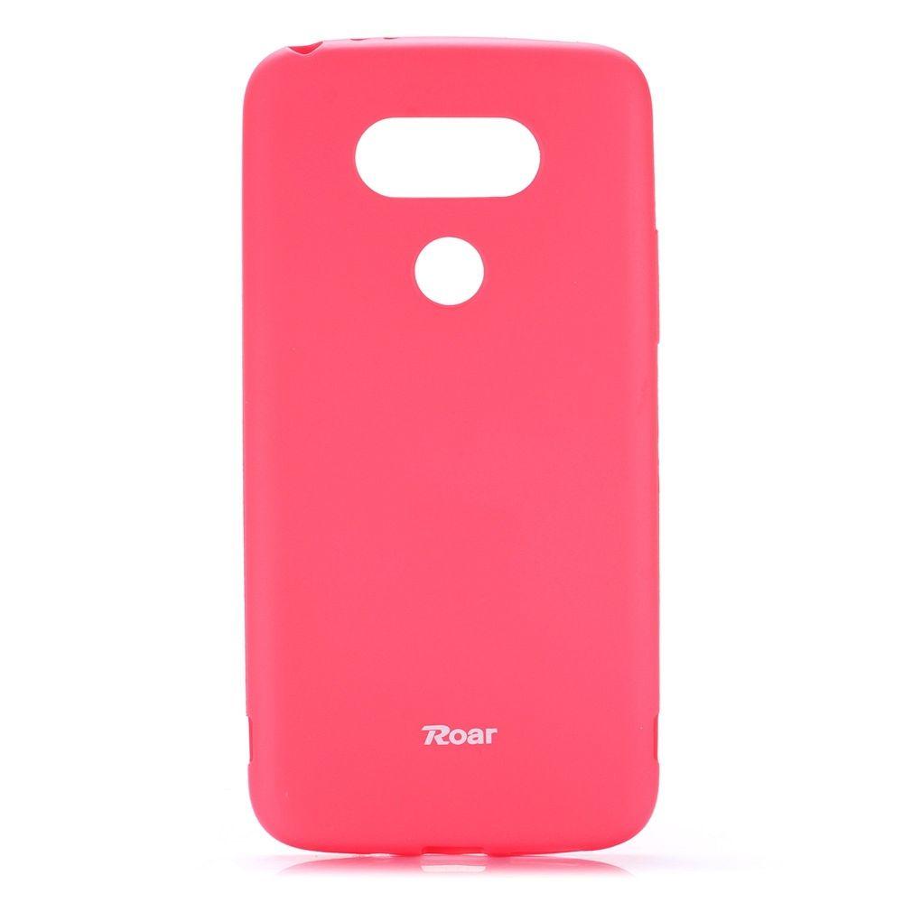 Ovitek TPU Roar (roza) za LG G5