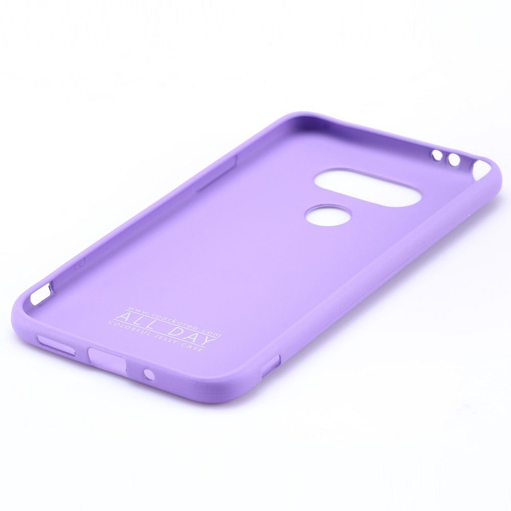 Ovitek TPU Roar (vijoličen) za LG G5