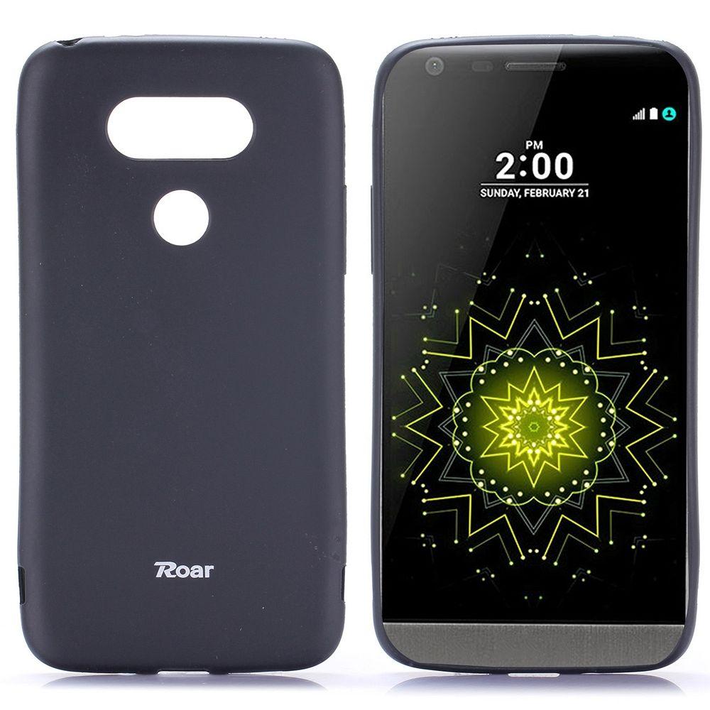 Ovitek TPU Roar (črn) za LG G5