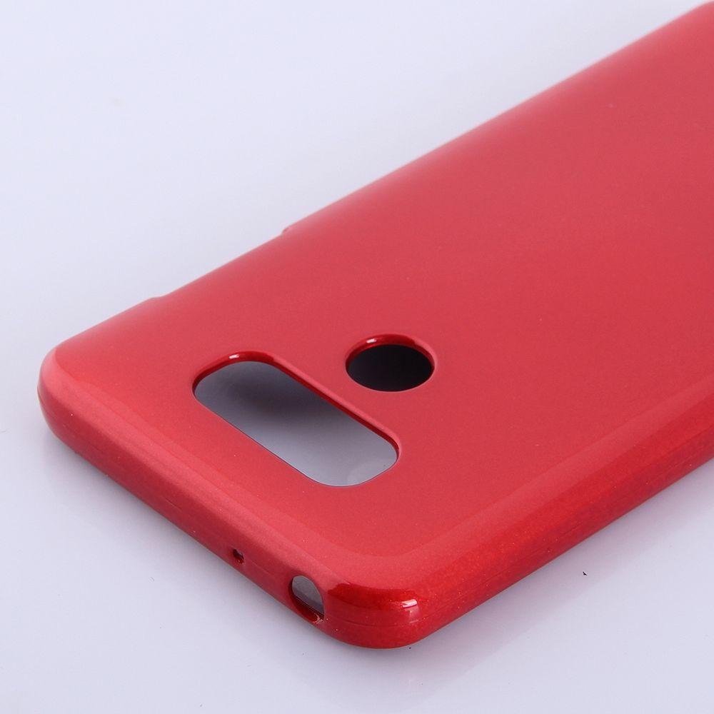 Ovitek TPU Goospery (rdeč) za LG G6
