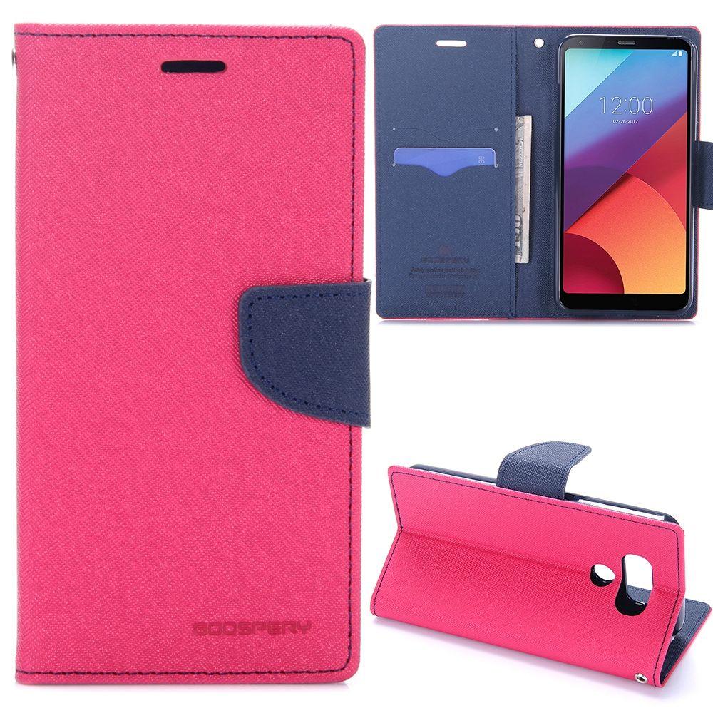 LG G6 Goospery (rose red) flip tok