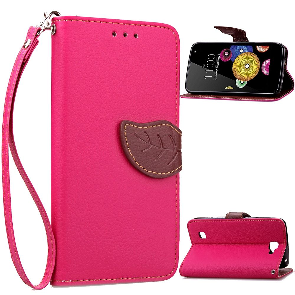 Preklopni ovitek (roza) za LG K4