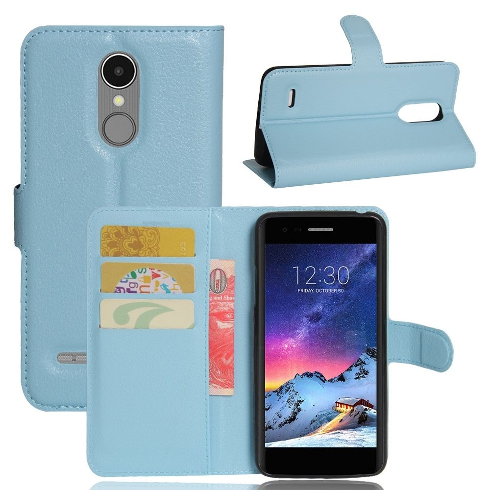 LG K4 2017 (light blue) flip tok