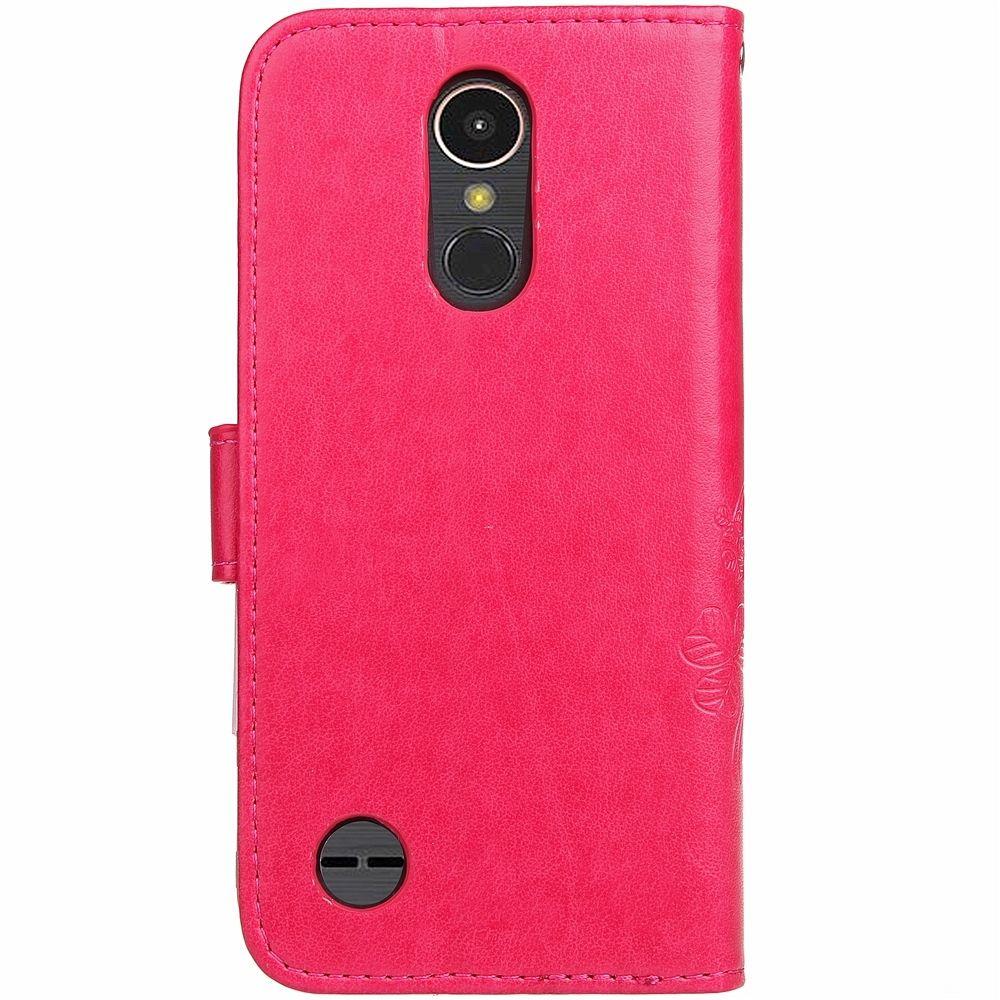 LG K10 2017  (red) flip tok