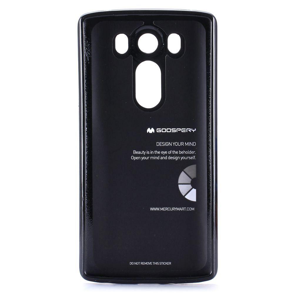Ovitek TPU Goospery (črn) za LG V10