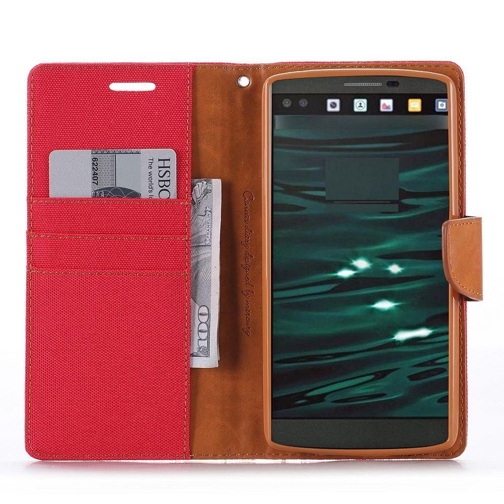Preklopni ovitek Goospery (rdeč) za LG V10