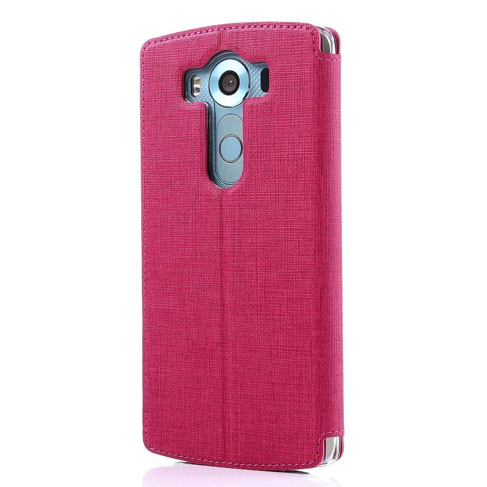 Preklopni ovitek Vili (rdeč) za LG V10