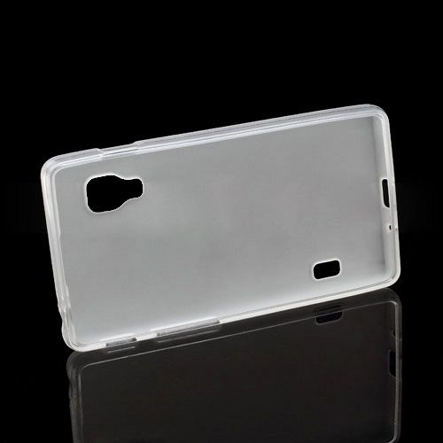 Ovitek TPU (bel) za LG Optimus L5 II