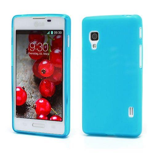 Maska TPU (plava) za LG Optimus L5 II