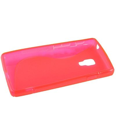 Ovitek TPU (rose red) za LG Optimus L7 II