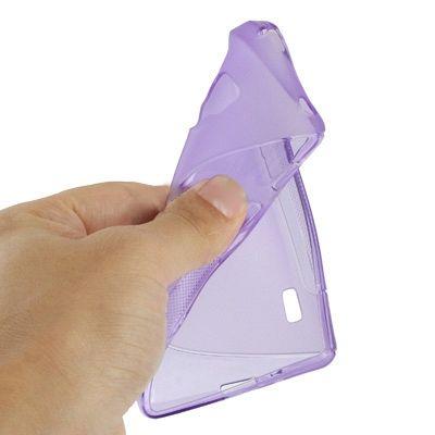 Ovitek TPU (vijoličen) za LG Optimus L7 II