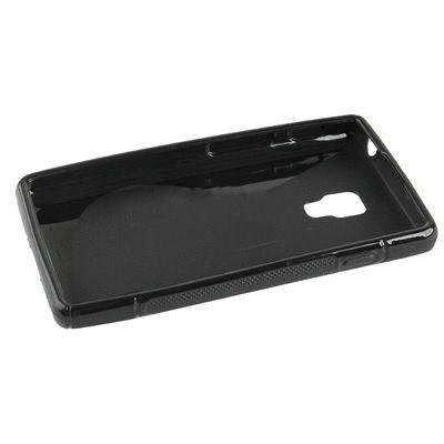 Ovitek TPU (črn) za LG Optimus L7 II