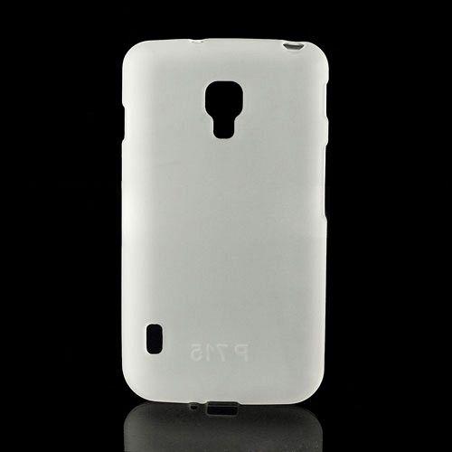 Ovitek TPU (bel) za LG Optimus L7 II Dual