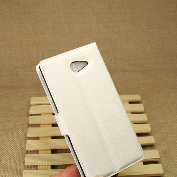 Preklopni ovitek (bel) za Sony Xperia M2