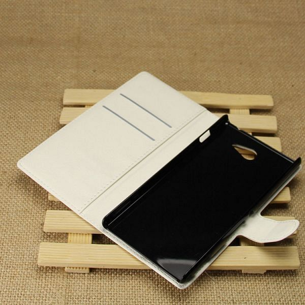 Preklopna maska (bijela) za Sony Xperia M2