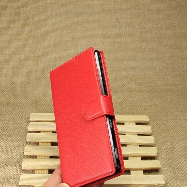 Preklopna maska (crvena) za Sony Xperia M2