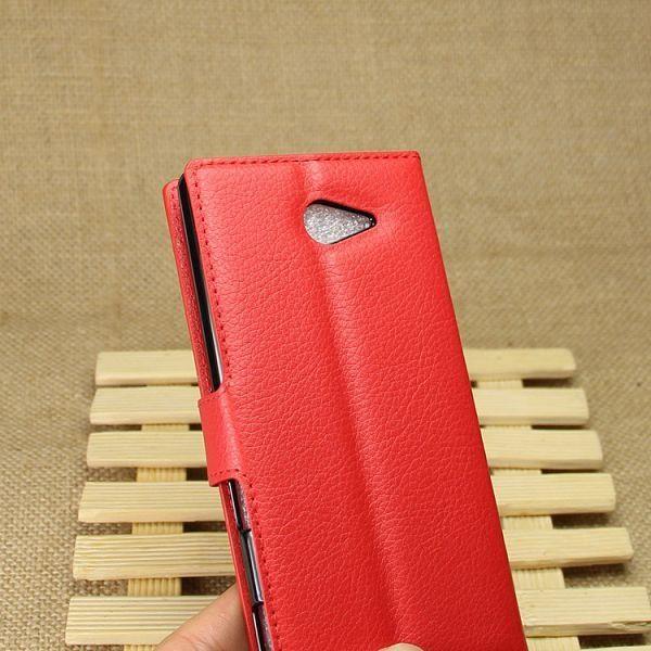 Preklopni ovitek (rdeč) za Sony Xperia M2