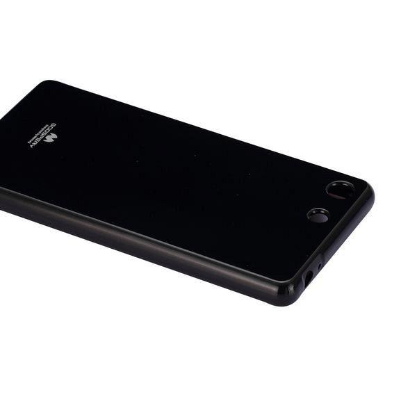 Ovitek Goospery (črn) Sony Xperia M5