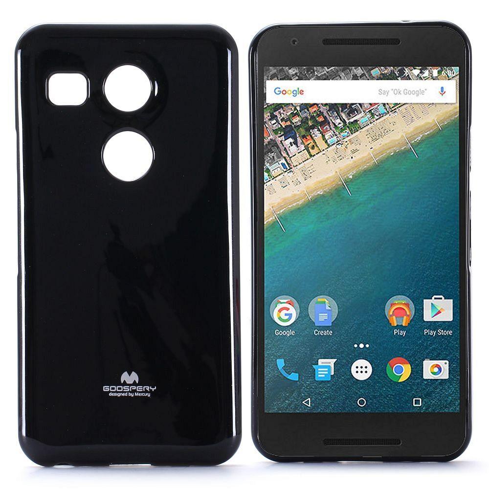 Ovitek Goospery (črn) za LG Nexus 5X