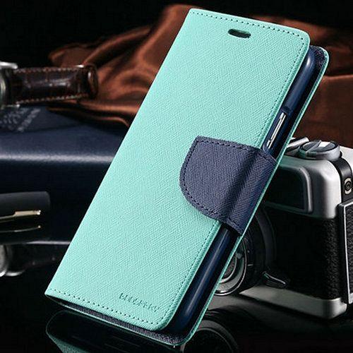 Samsung Galaxy S5 Goospery (Green) Flip-Tok