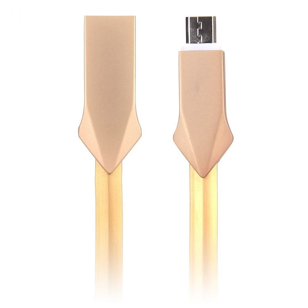 Cable Micro USB Gold