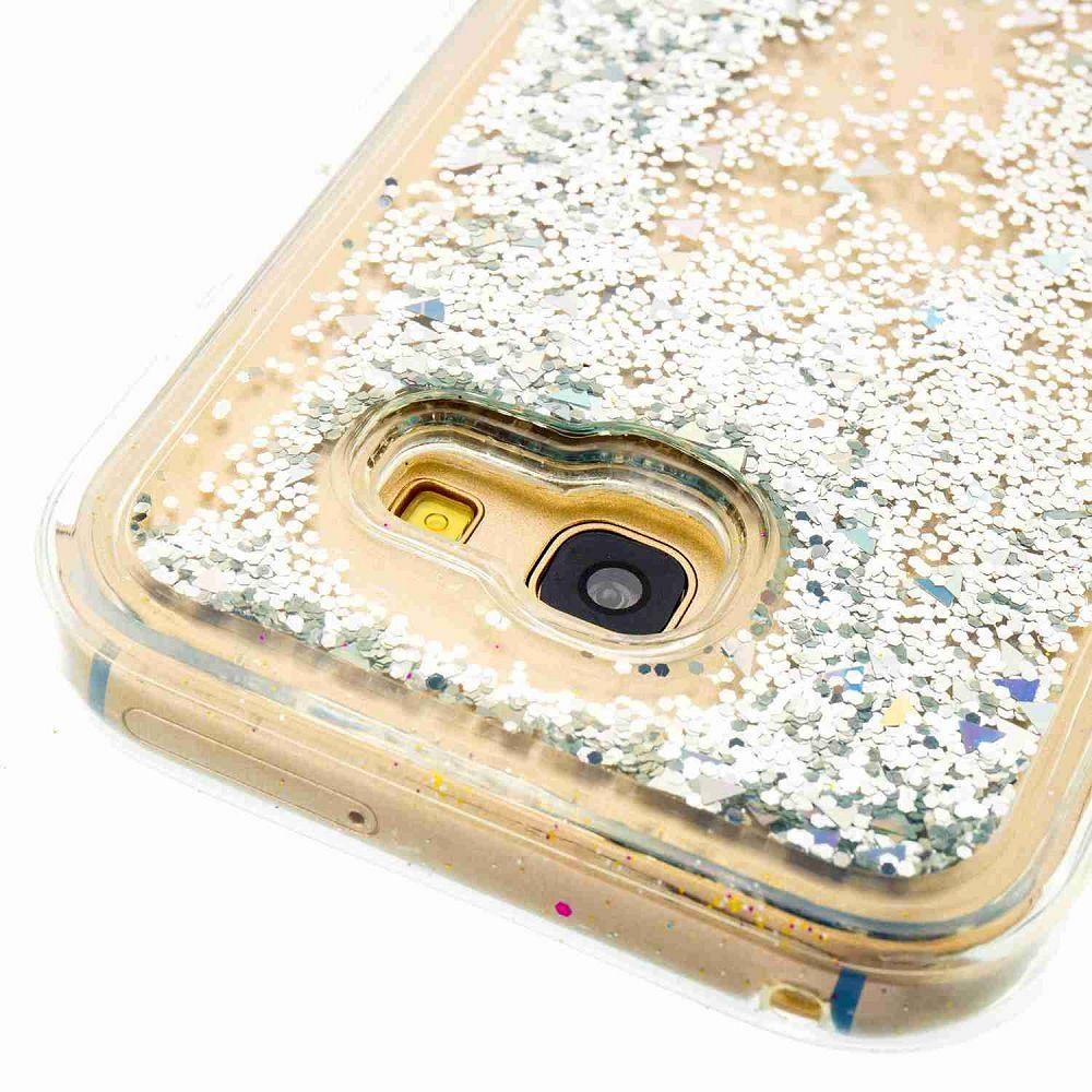 Samsung Galaxy A5 2017 Borító vízes csillogók