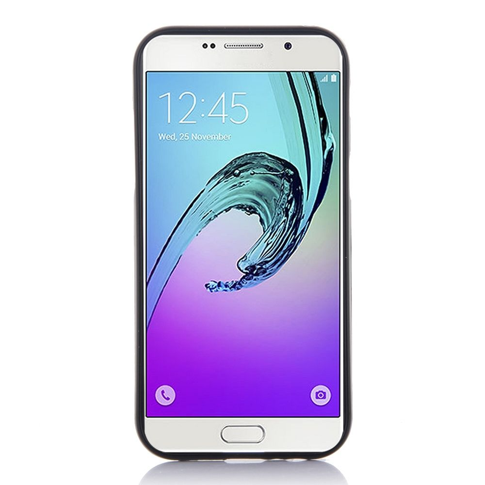 Ovitek TPU Goospery (črn) za Samsung Galaxy A7 2017