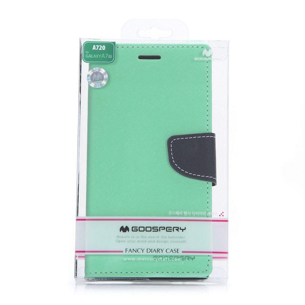 Preklopni ovitek Goospery (zelen) za Samsung Galaxy A7 2017
