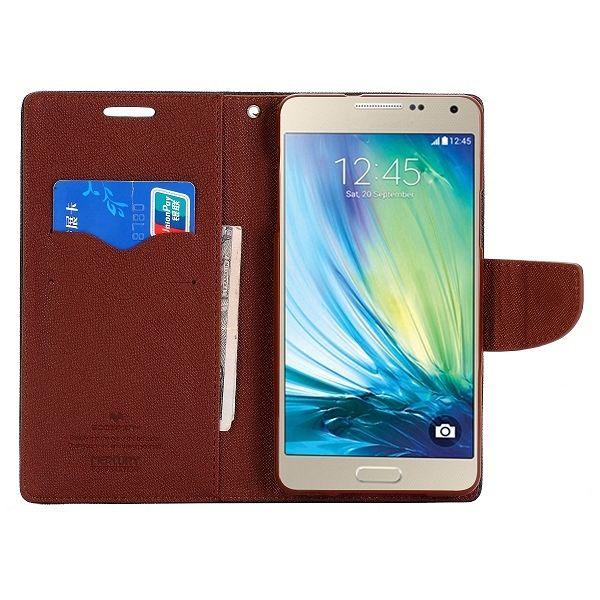 Preklopni ovitek (črn) za Samsung Galaxy A7