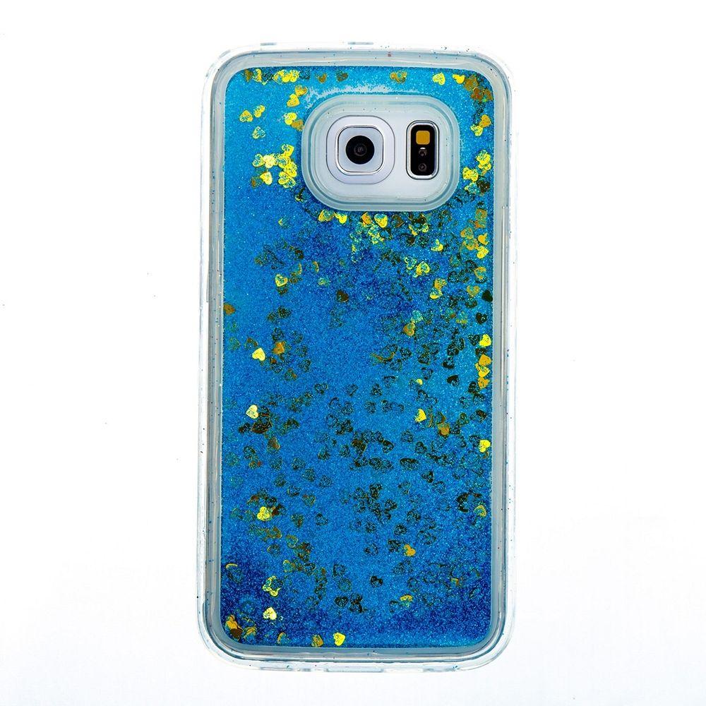 Vodne bleščice (modre) za Samsung Galaxy S6