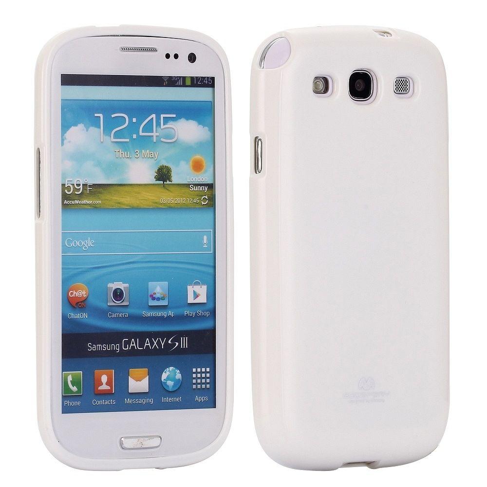 Ovitek TPU (bel) za Samsung Galaxy S3