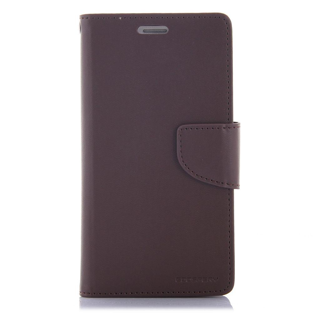 Samsung Galaxy S5 Goospery (Dark Brown) Flip-Tok