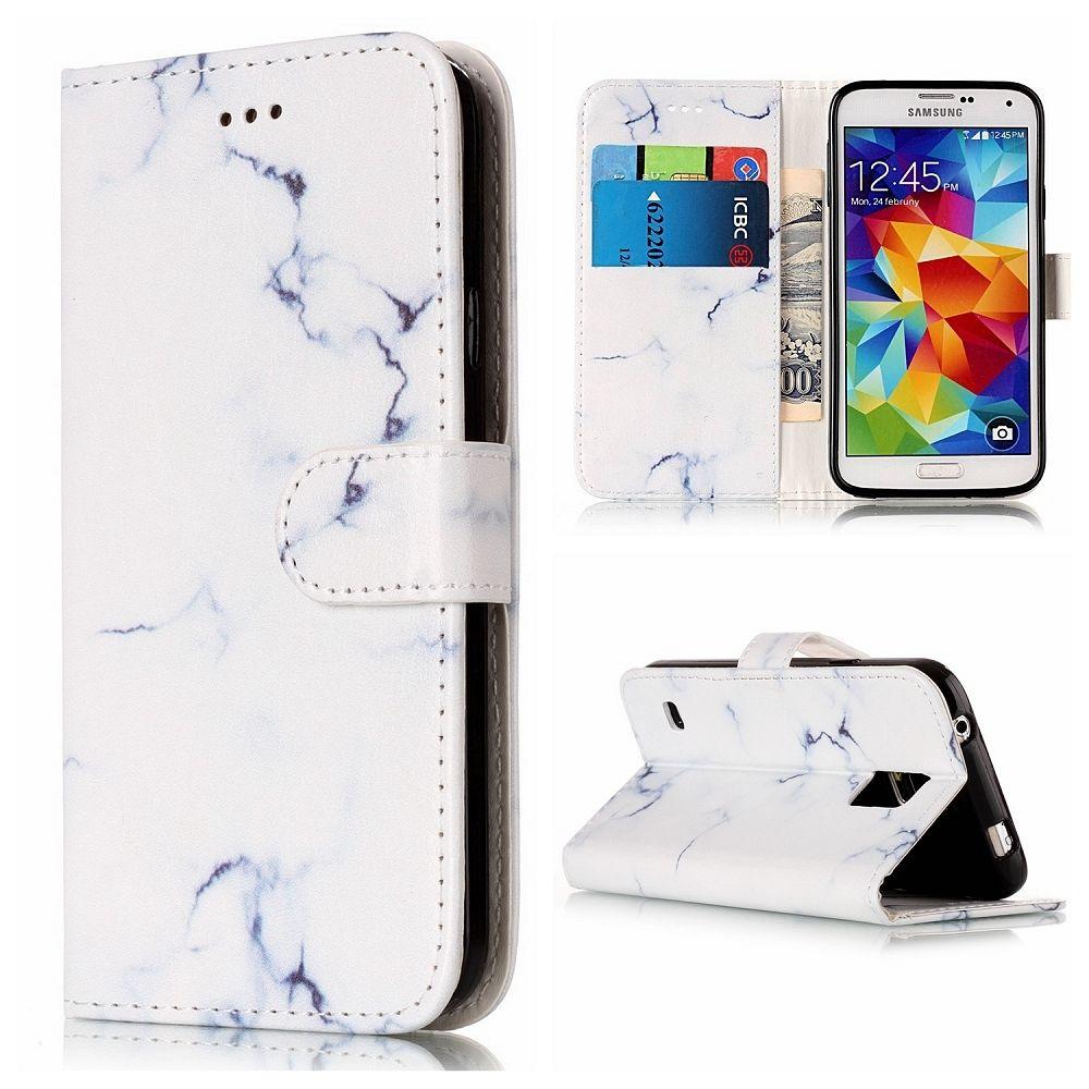 Samsung Galaxy S5 (White blue) Flip-Tok