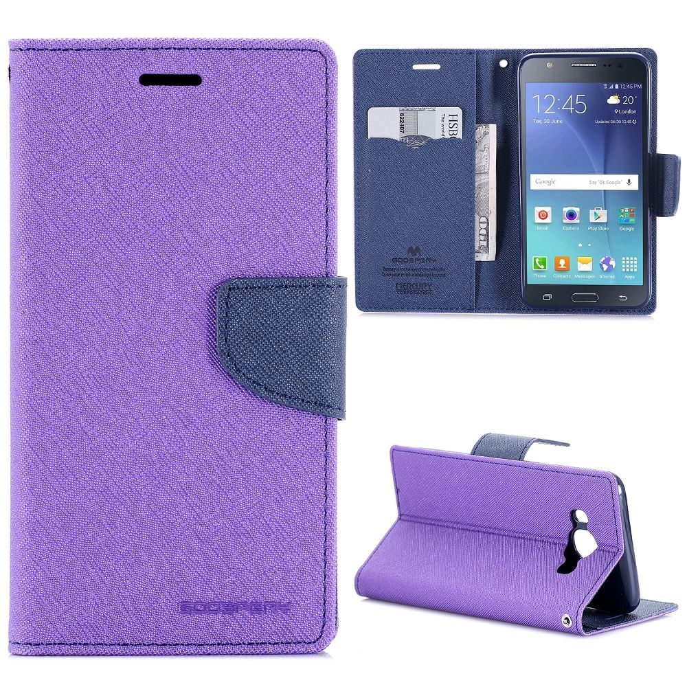 Samsung Galaxy J5 (2016) Goospery (purple) flip tok