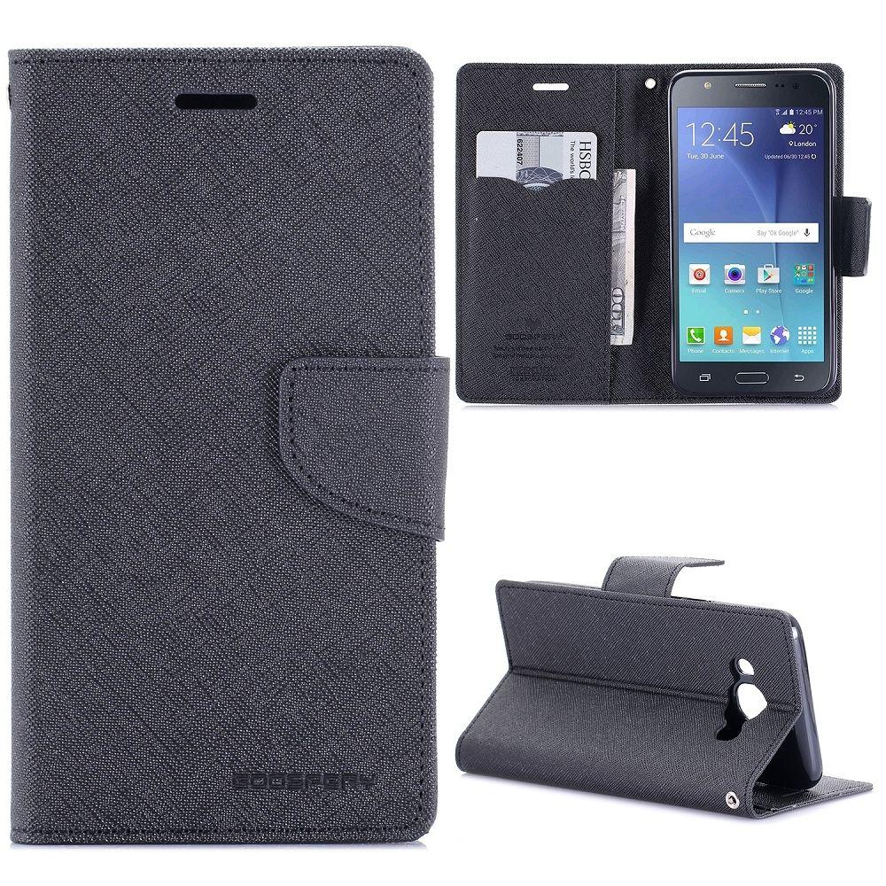 Samsung Galaxy J5 (2016) Goospery (black) flip tok