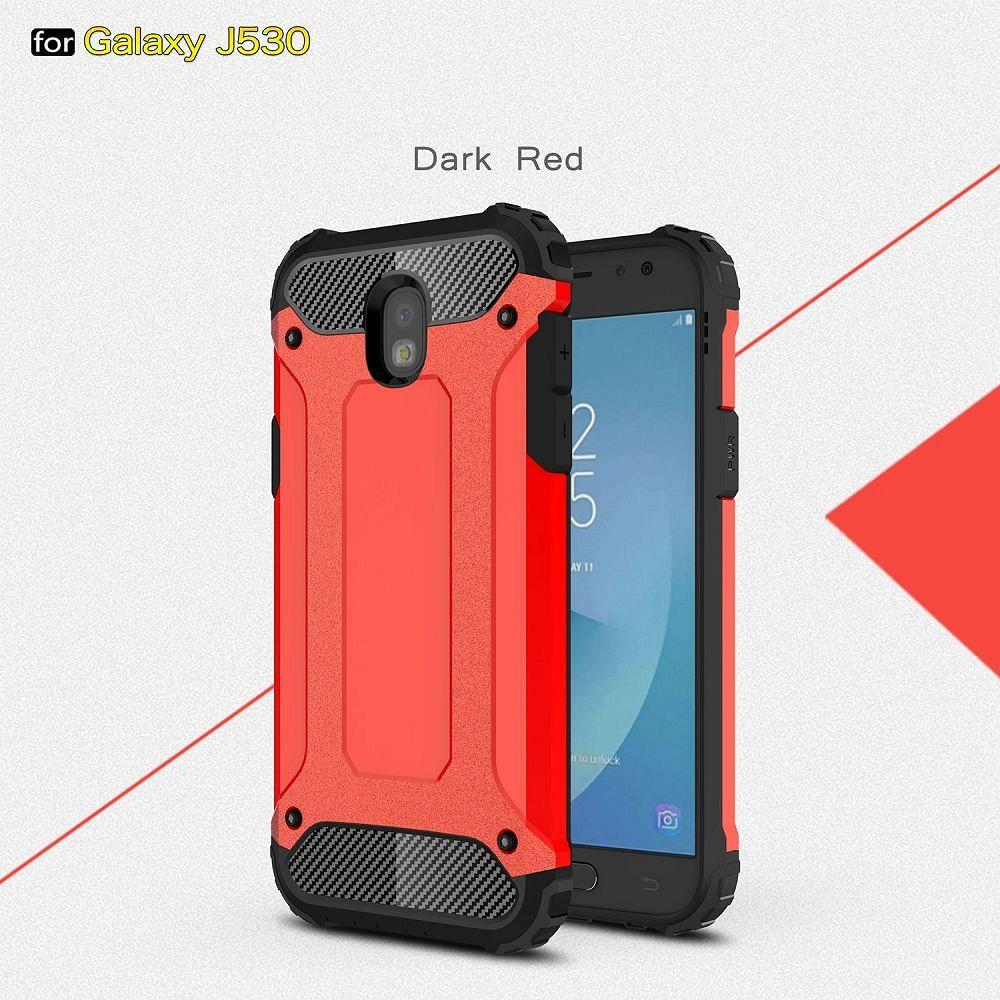 Ovitek Rugged X (Rdeč) za Samsung Galaxy J7 (2017)