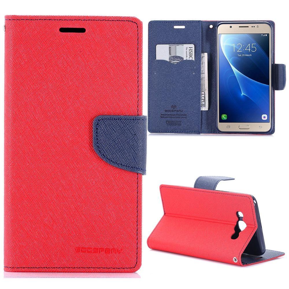 Preklopni ovitek Goospery (rdeč) za Samsung Galaxy J7 2016