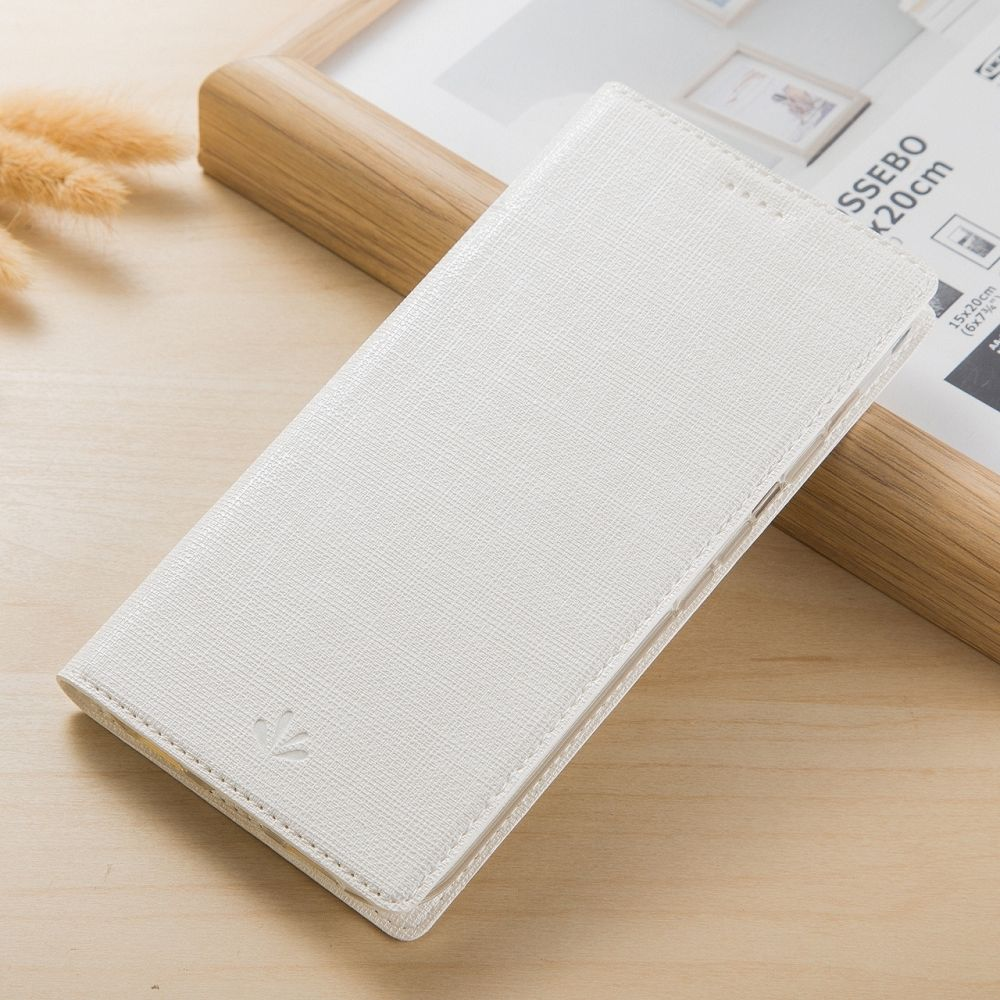 Preklopna maska Vili Canvas (bijela) za Sony Xperia L1