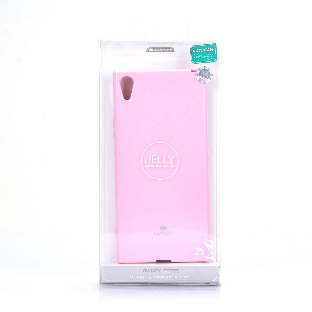 Ovitek TPU Goospery (roza) za Sony Xperia XA1 Ultra