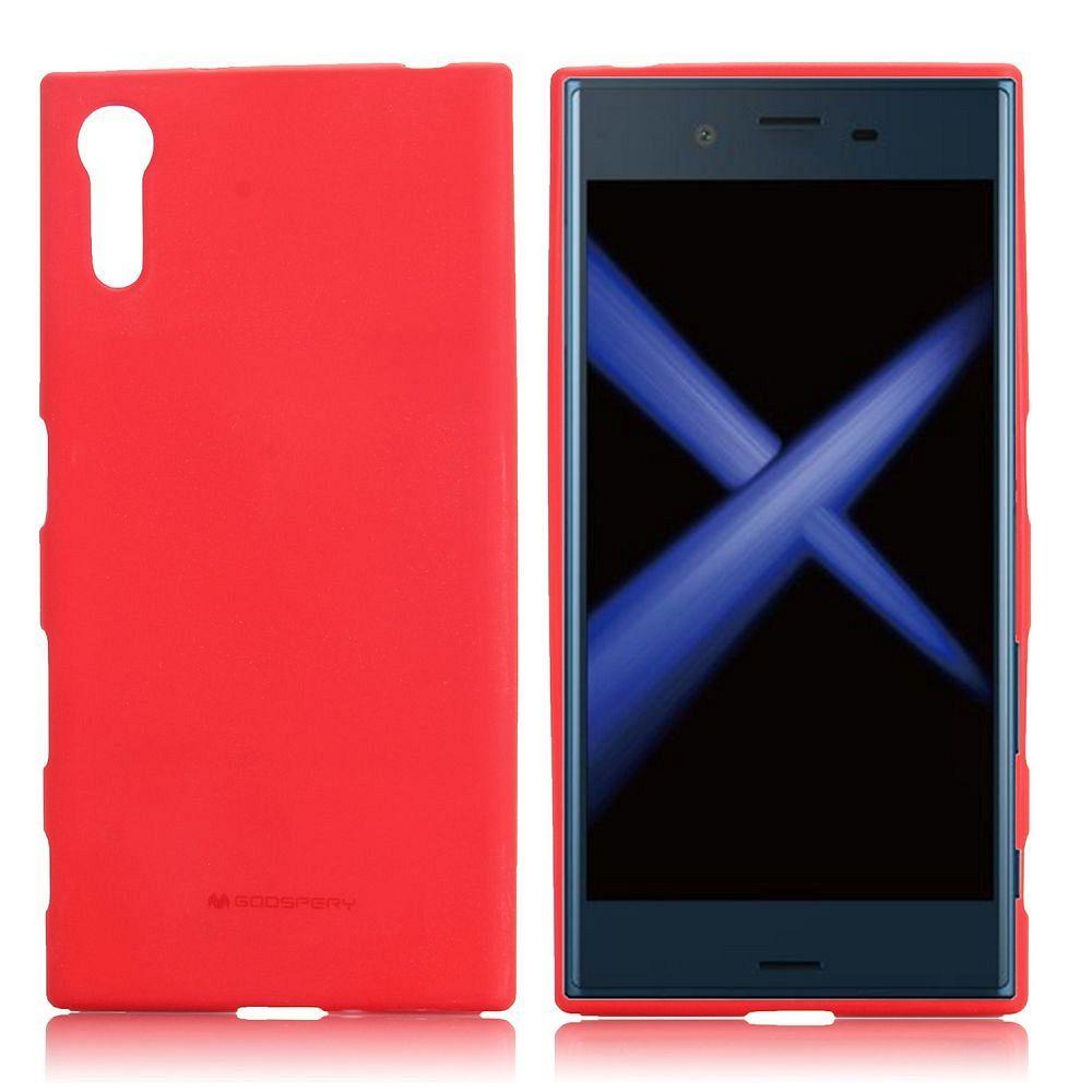 Ovitek TPU Goospery (rdeč) za Sony Xperia XZ