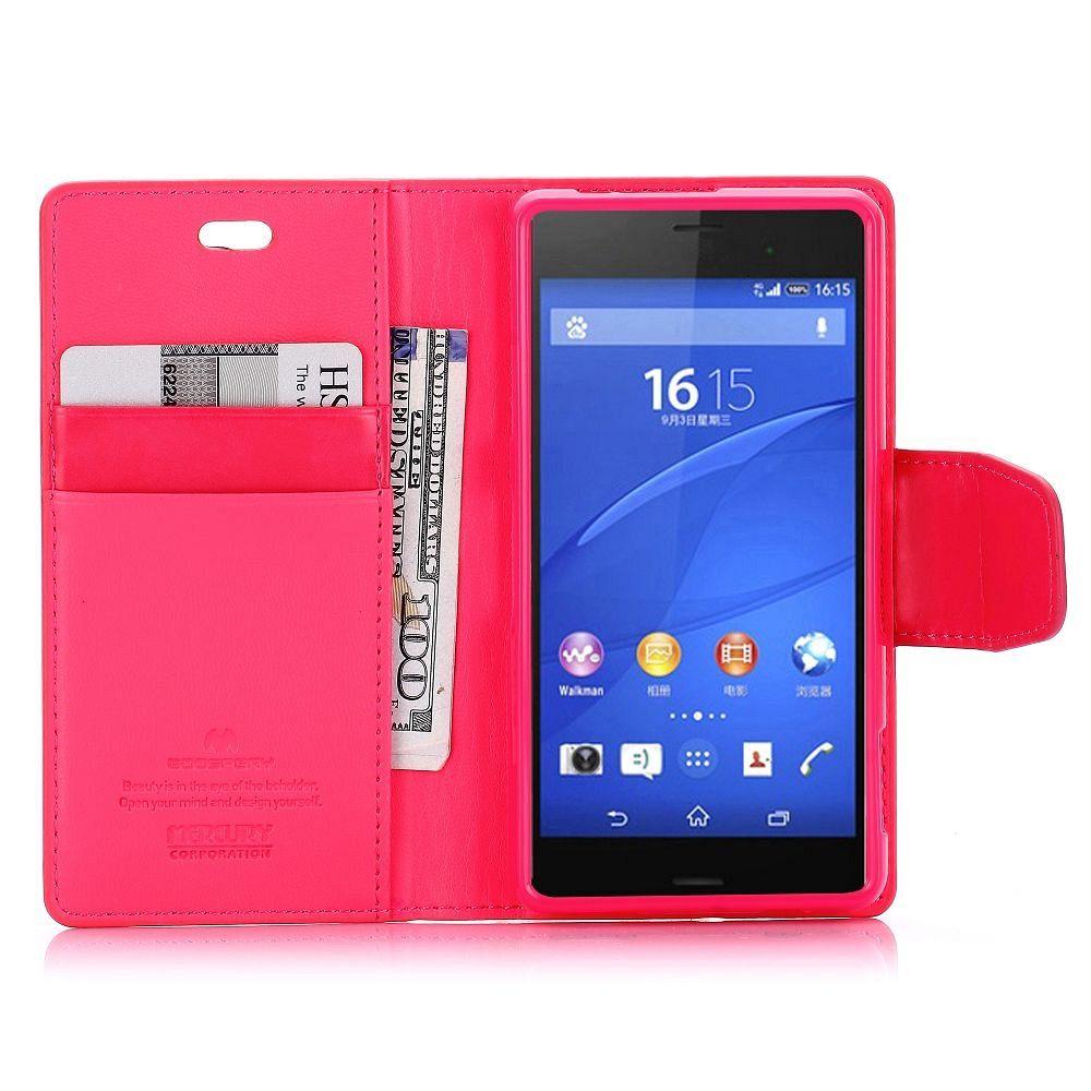 Preklopni ovitek (rdeč) za Sony Xperia Z3 Compact